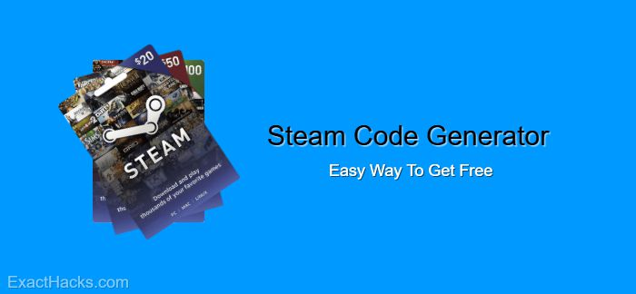 Steam Code Generator 2020 – Easy Way To Get Free