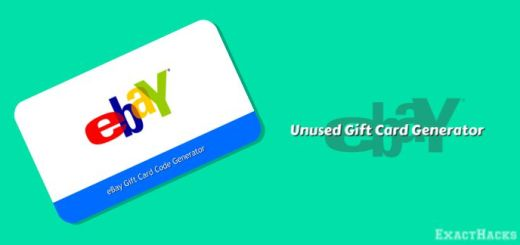 Hindi nagamit na eBay Gift Card Code Generator 2020