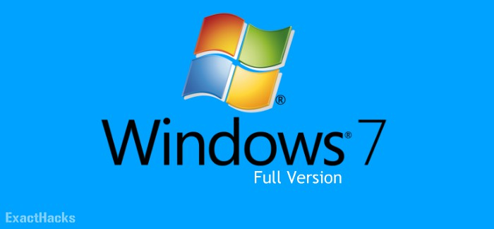 Windows 7 Ultimate ISO 32/64-bit Full Version [2020]