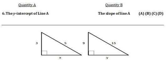 GRE Practice Question 6