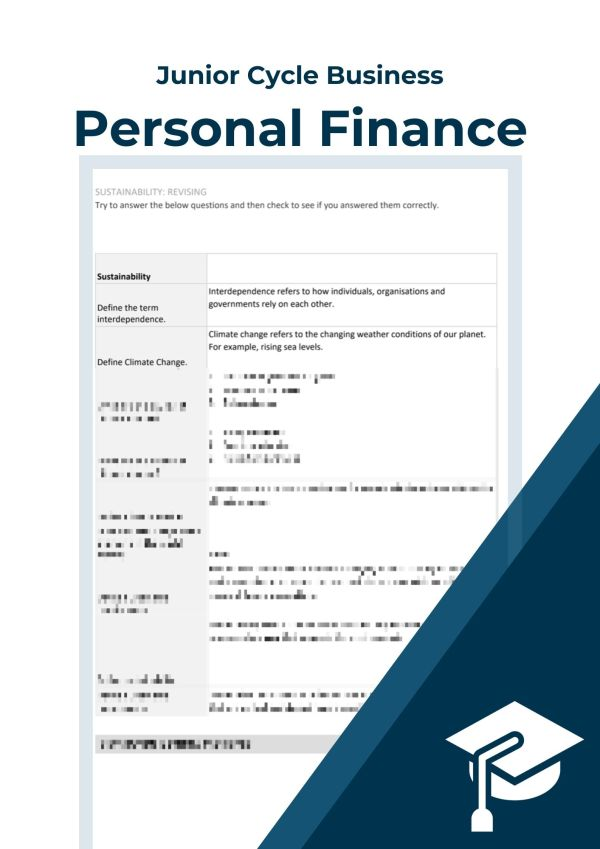 a cover image for our business notes