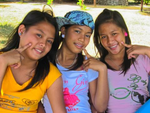 Young girls find refuge and healing at the Preda Girls Home. Photo: PREDA