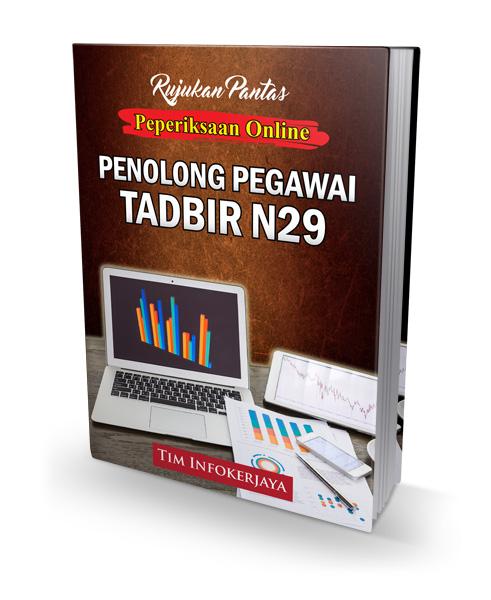 Contoh Soalan Penolong Pegawai Tadbir N29