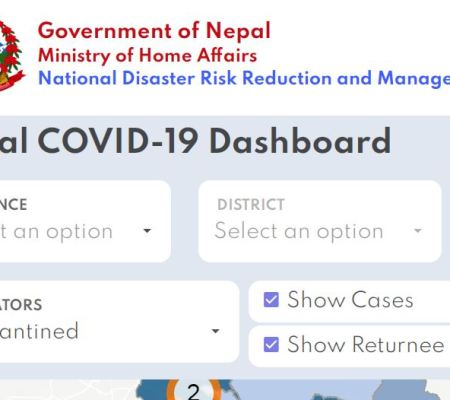COVID 19 Corona Virus Update Details Sites & Apps of Nepal