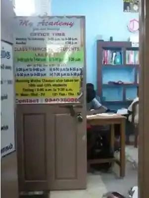 My Academy Tution Center, Chennai