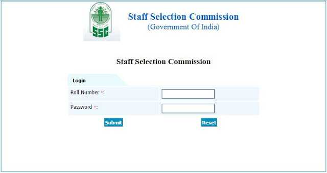 Official: SSC CGL 2016 Tier-1 Answer Key(Response sheet) - Check Now- Exam Tyaari