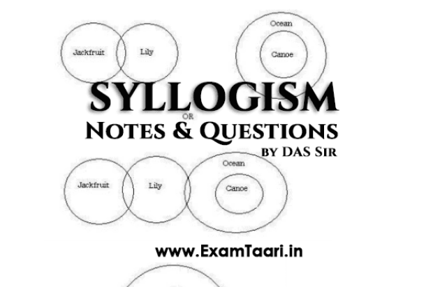 Download Syllogism Notes & Questions for SSC CGL and IBPS Bank Exam by DAS Sir - PDF - Exam Tyaari