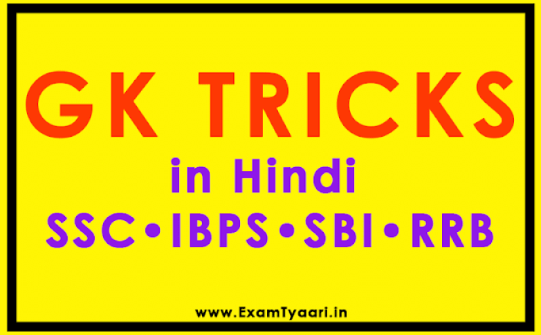 Most Important GK Tricks in Hindi with 3000 MCQs [PDF