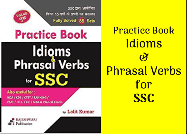Free-Book: Idioms & Phrasal Verbs for SSC [PDF Download] - Exam Tyaari