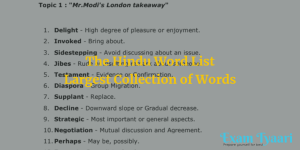 download the hindu vocabulary pdf - exam tyaari