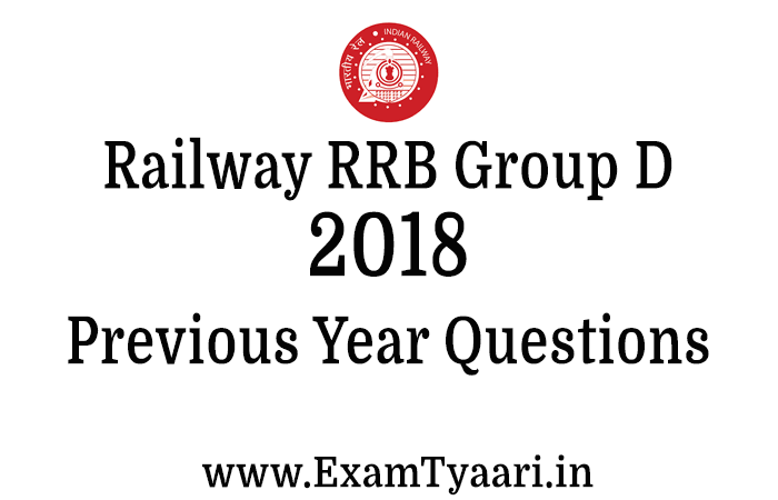 Download RRB Group D 2018 Paper Question and Answers PDF
