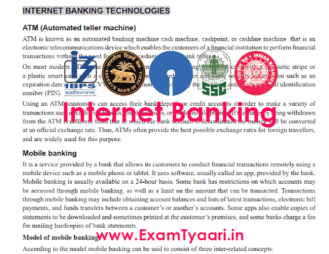 Technologies and Terms Internet Banking PDF