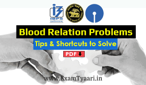 download blood relation questions pdf
