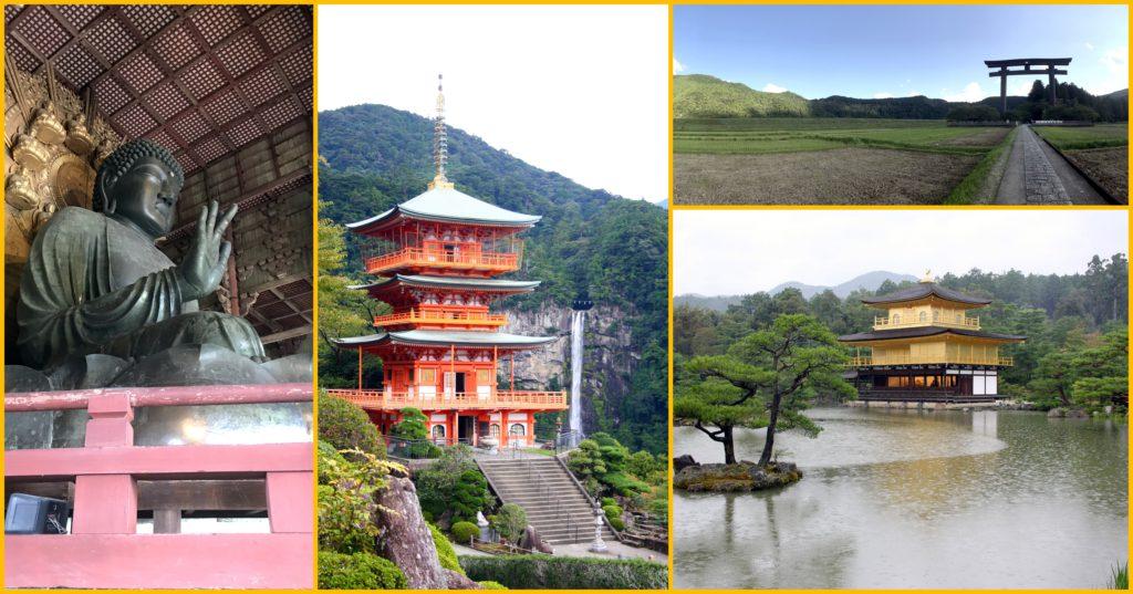 Storia, cultura, natura, spiritualità: quattro immagini dal Giappone