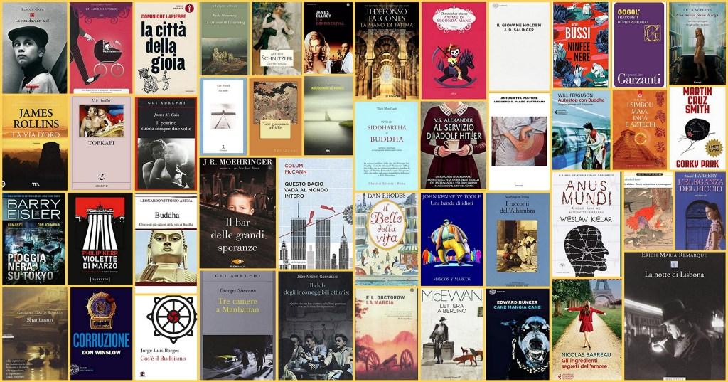 Tutte le copertine dei libri ambientati a...