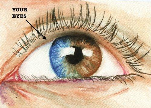 eyes light up