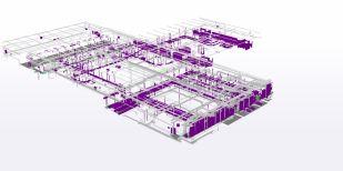 Excadia bureau d'études structure métallique scan 3D capture process