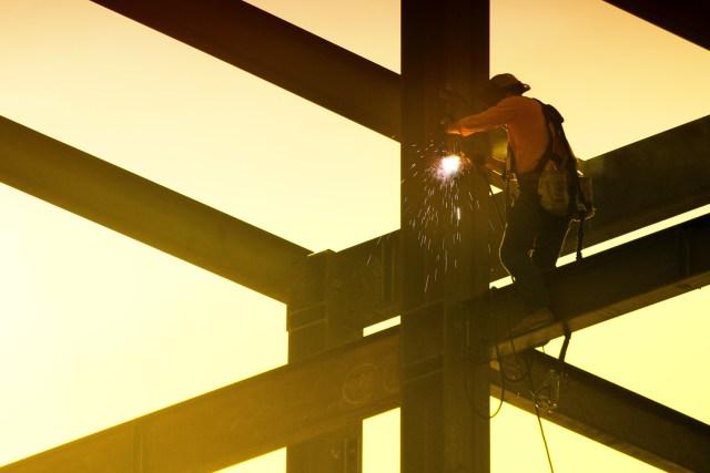 Excadia bureau d'études structure métallique renforcement exemple