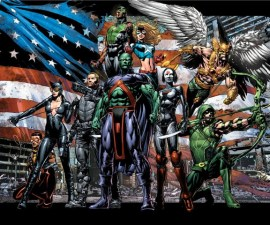 Justice League of America by Geoff Johns and David Finch