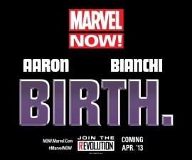 """Marvel Teases """"Birth""""!"""
