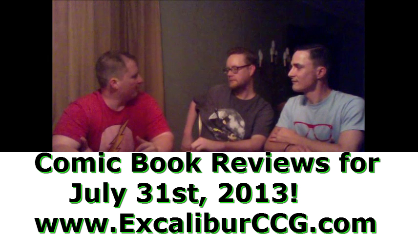Comic Book Reviews for July 31st, 2013!