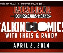 Talking Comics for April 4th, 2014!