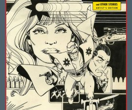 Walter Simonson's Manhunter & Other Stories: Artist's Edition HC from IDW Comics!