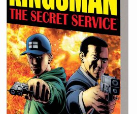 Kingsman: The Secret Service TPB from Marvel Comics!