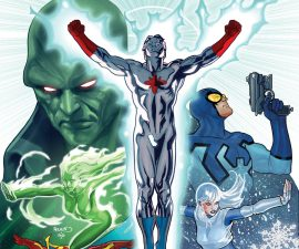 Convergence: Justice League International #1 from DC Comics