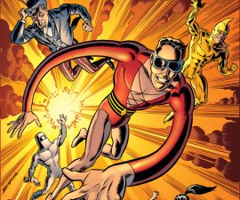 Convergence: Plastic Man and The Freedom Fighters #1 from DC Comics