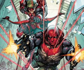 Red Hood/Arsenal #1 from DC Comics