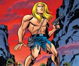 The Kamandi Challenge #1 from DC Comics