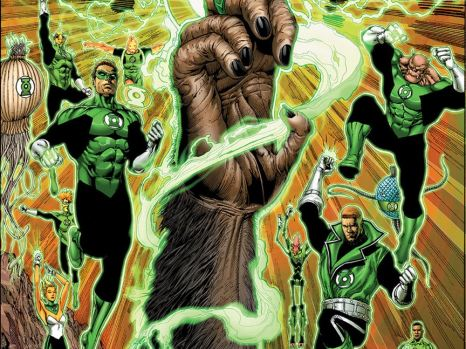 Planet of the Apes/Green Lantern #1 from Boom! Studios