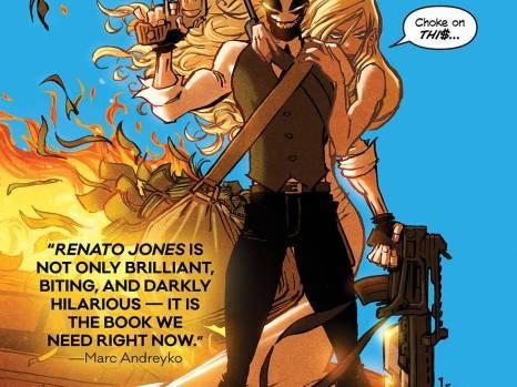 Renato Jones Season Two #1 from Image Comics