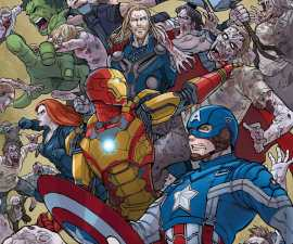 Zombies Assemble #1 from Marvel Comics