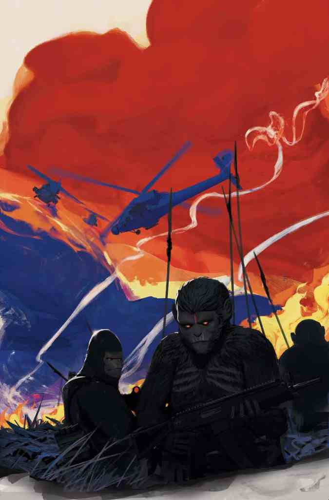War For The Planet Of The Apes #1 from Boom Studios