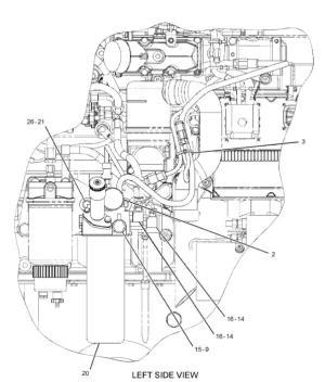 C7 C9 C11 C13 C15 3126B Engine Fuel Filter 1R0762 Applied