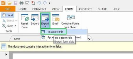 PDF Form Fields Foxit Reader