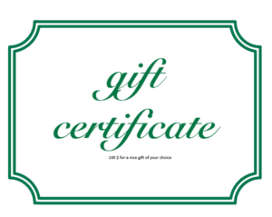 Gift Voucher with Excel