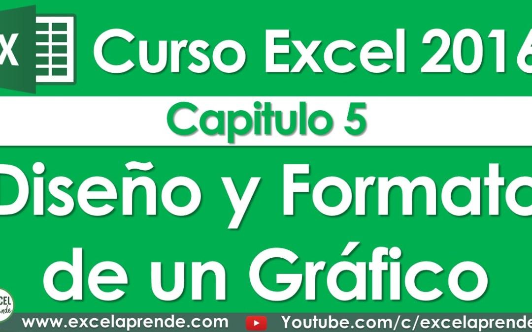 Curso Excel 2016 – Capitulo 5 – Diseño y Formato de un Gráfico | Excel Aprende