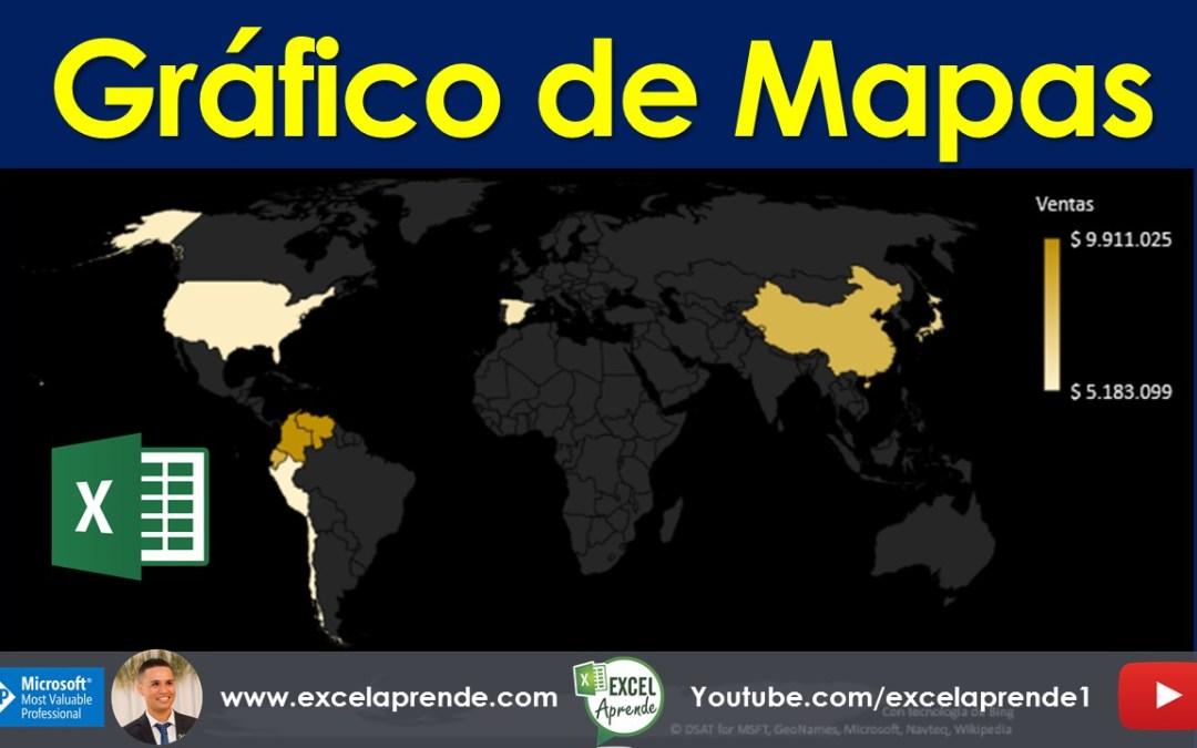 Gráfico de Mapas | Excel Aprende