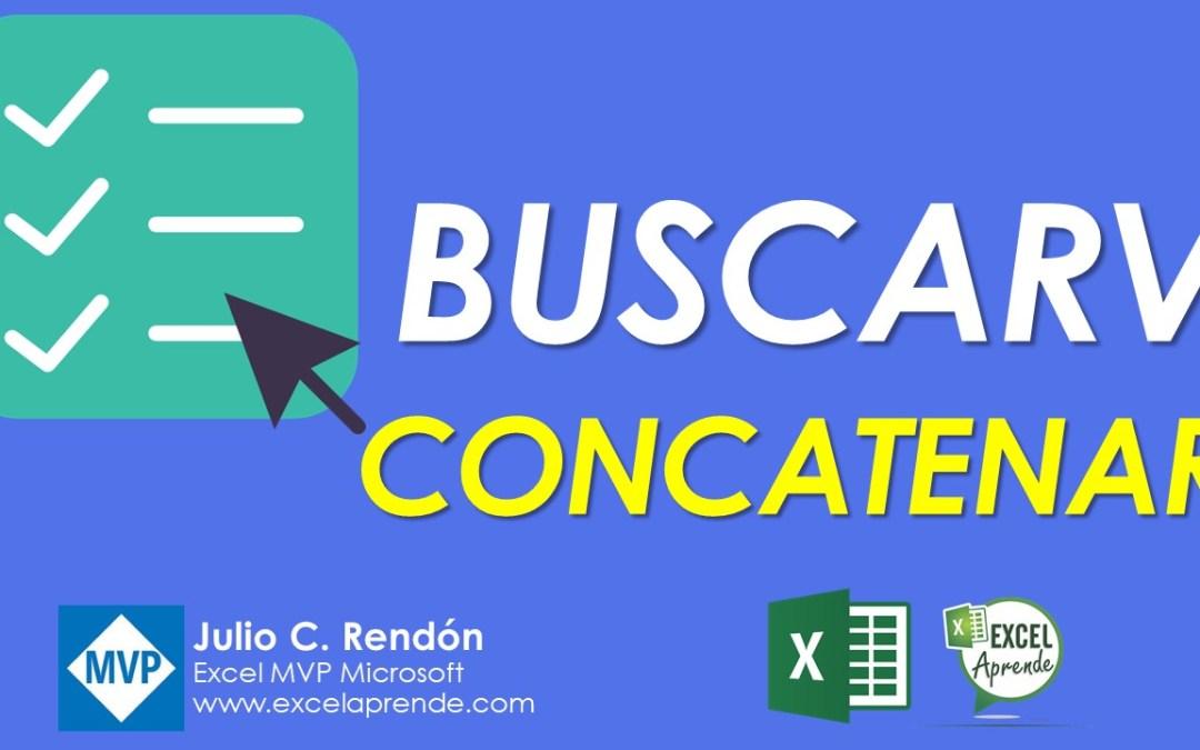 Usando Listas, Buscarv y Concatenar de manera profesional | Excel Aprende
