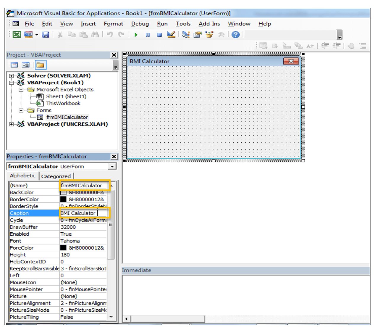 How To Create A Body Mass Index Bmi Calculator In Excel