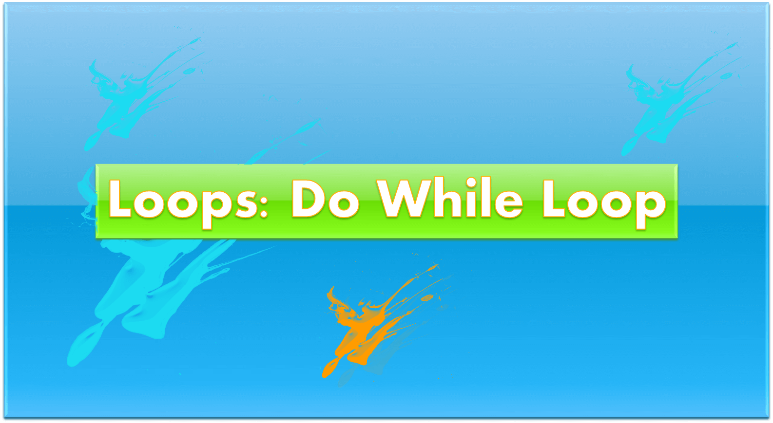 How To Use The Do While Loop In Excel Vba
