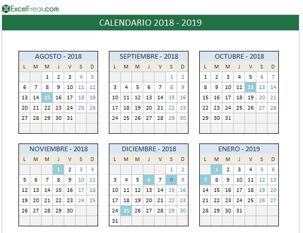calendario-2018-2019-para-imprimir