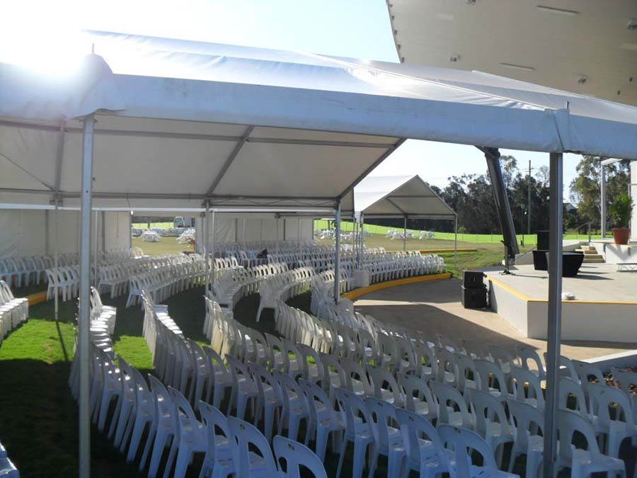 Marquee hire on the Gold Coast
