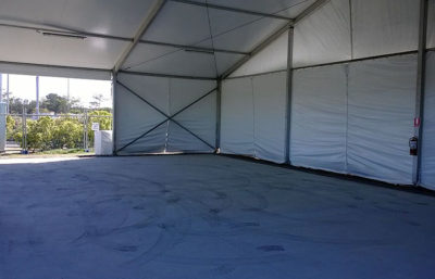 15 x 10m Pavilion Marquee for Shelter on long term hire