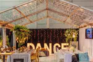Excel teamed up with AVIdeas to create an interesting and experiential exhibit at the recent Bridal Show