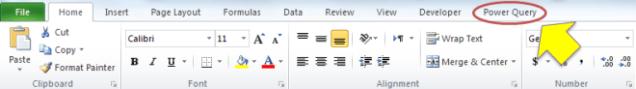 power-query-ribbon-tab