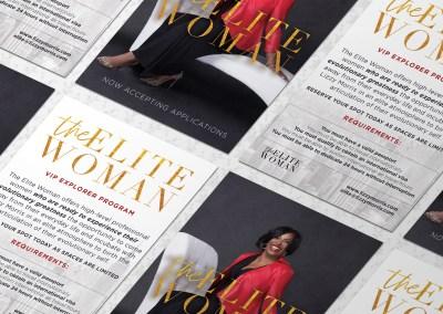Elite Woman Flyer 1 - Portfolio